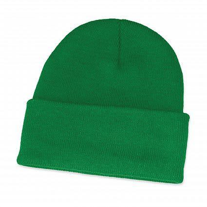 Dark Green Monty Beanie