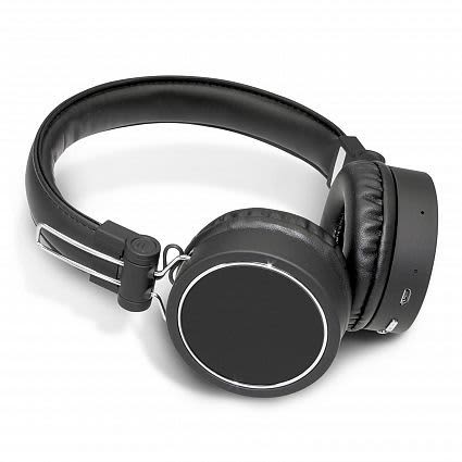 Black Cyberdyne Bluetooth Headphones