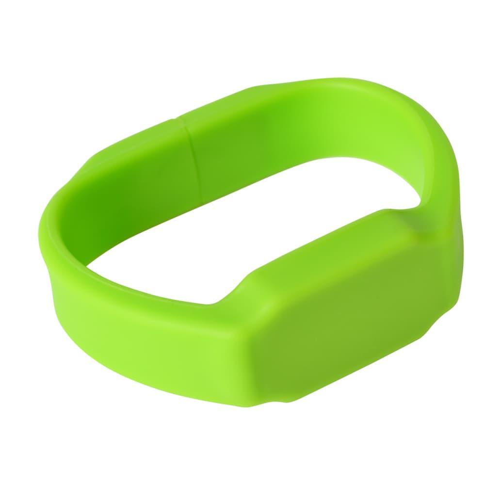 Green Silicone Watch Flash Drive