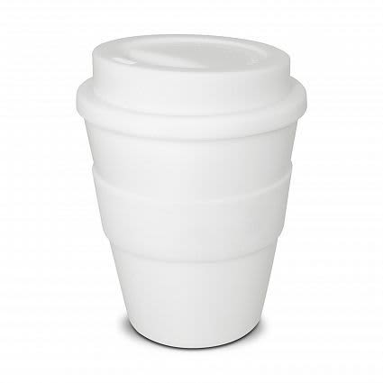 White Take Away Classic Coffee Cup - 350ml