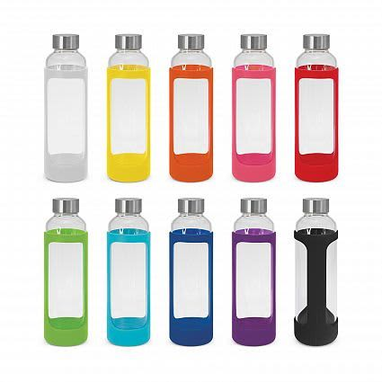 Aphrodite Glass Drink Bottle - Silicone Sleeve
