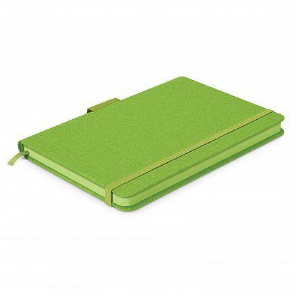 Bright Green Meridian Notebook