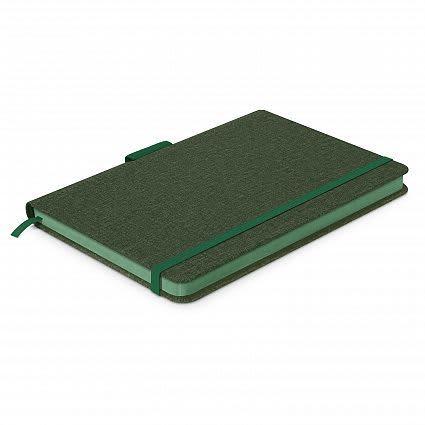 Dark Green Meridian Notebook