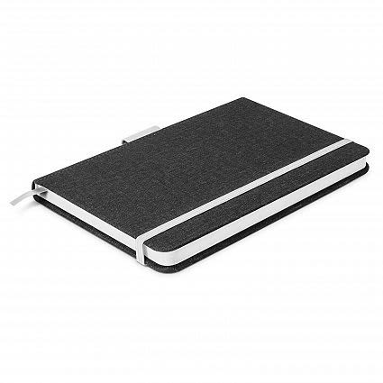 Charcoal/White Meridian Notebook - Two Tone
