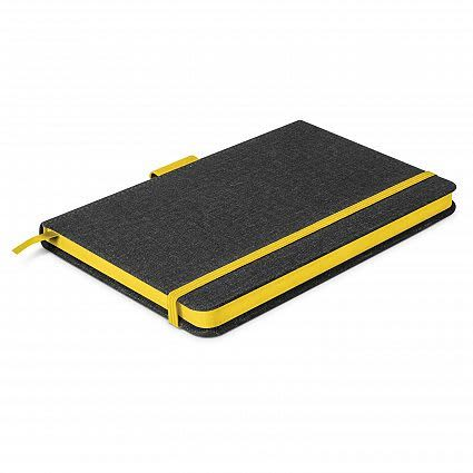 Charcoal/Yellow Meridian Notebook - Two Tone