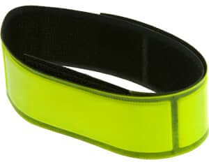Neon Yellow Reflective Wrist Band