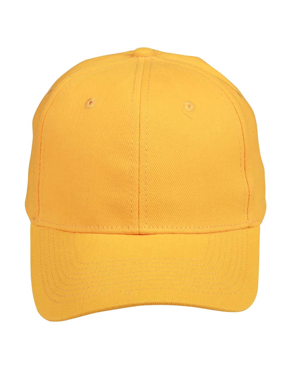 Gold Heavy Brushed Cotton Cap