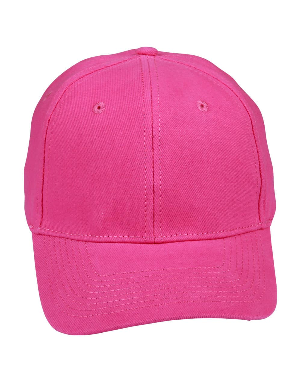Hot Pink Heavy Brushed Cotton Cap