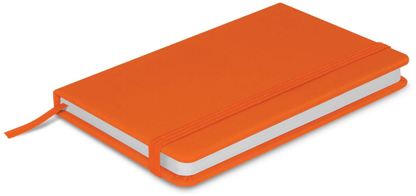 Orange A6 Pocket Notebook