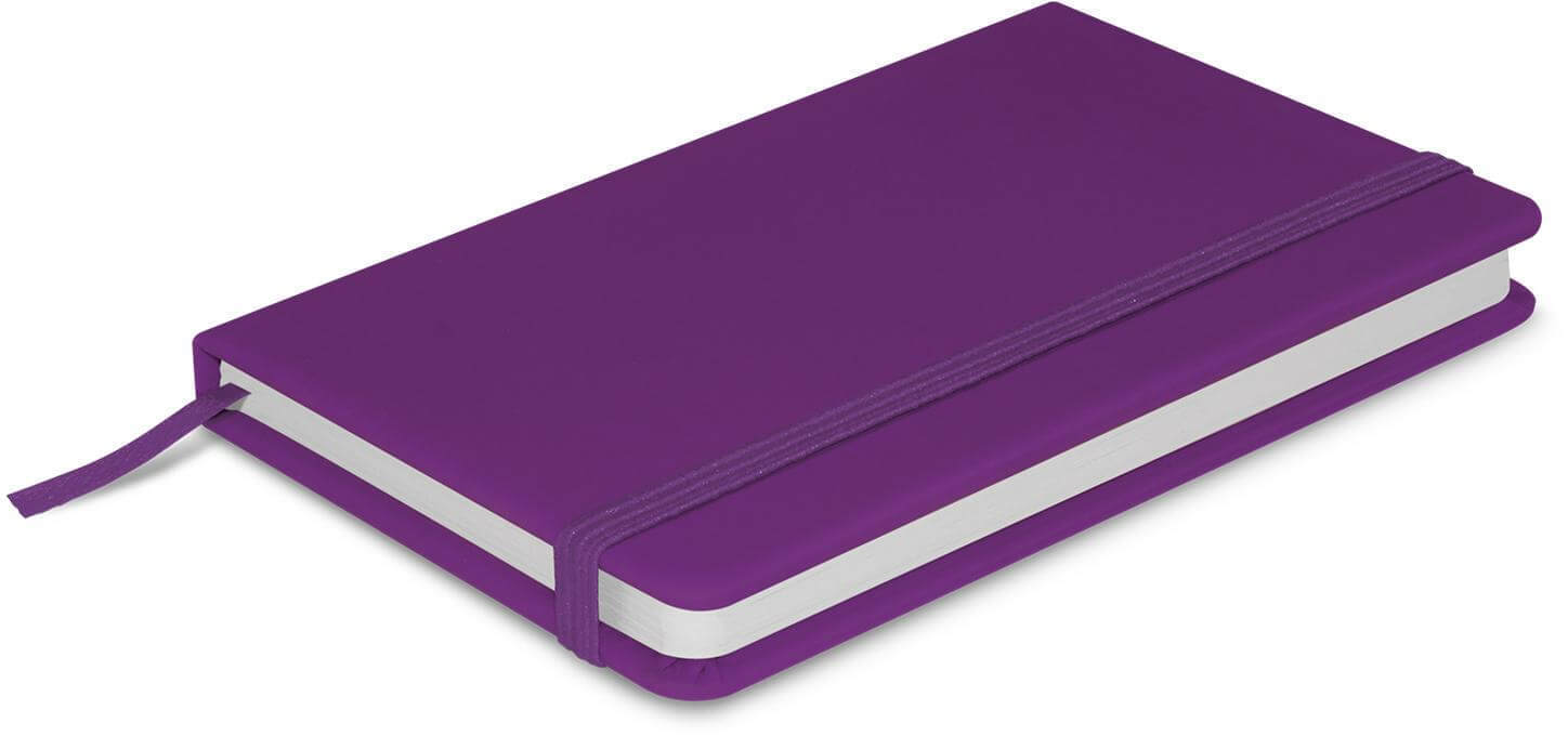 Purple A6 Pocket Notebook