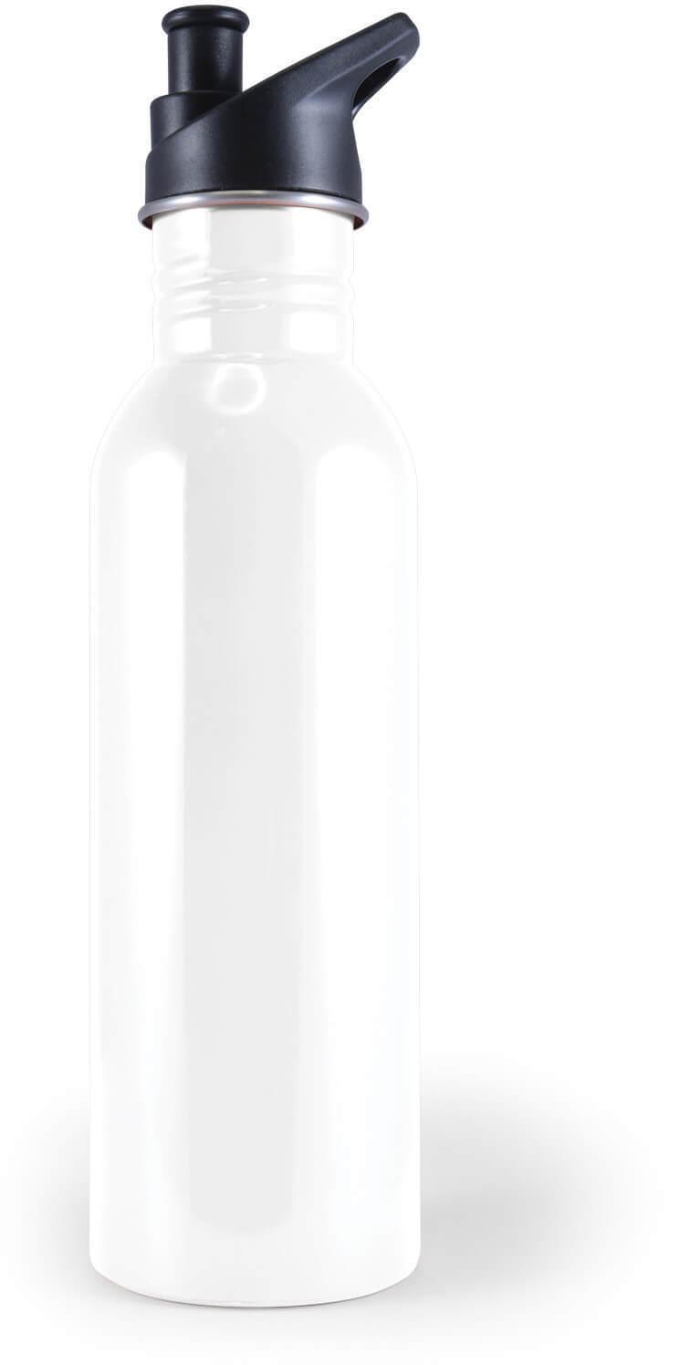 White Tripper Stainless Steel Drink Bottle