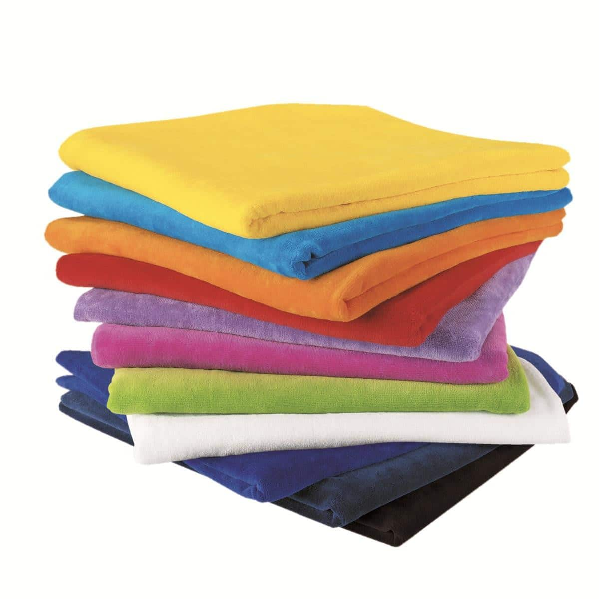 Super Soft Touch Towel Custom Printed