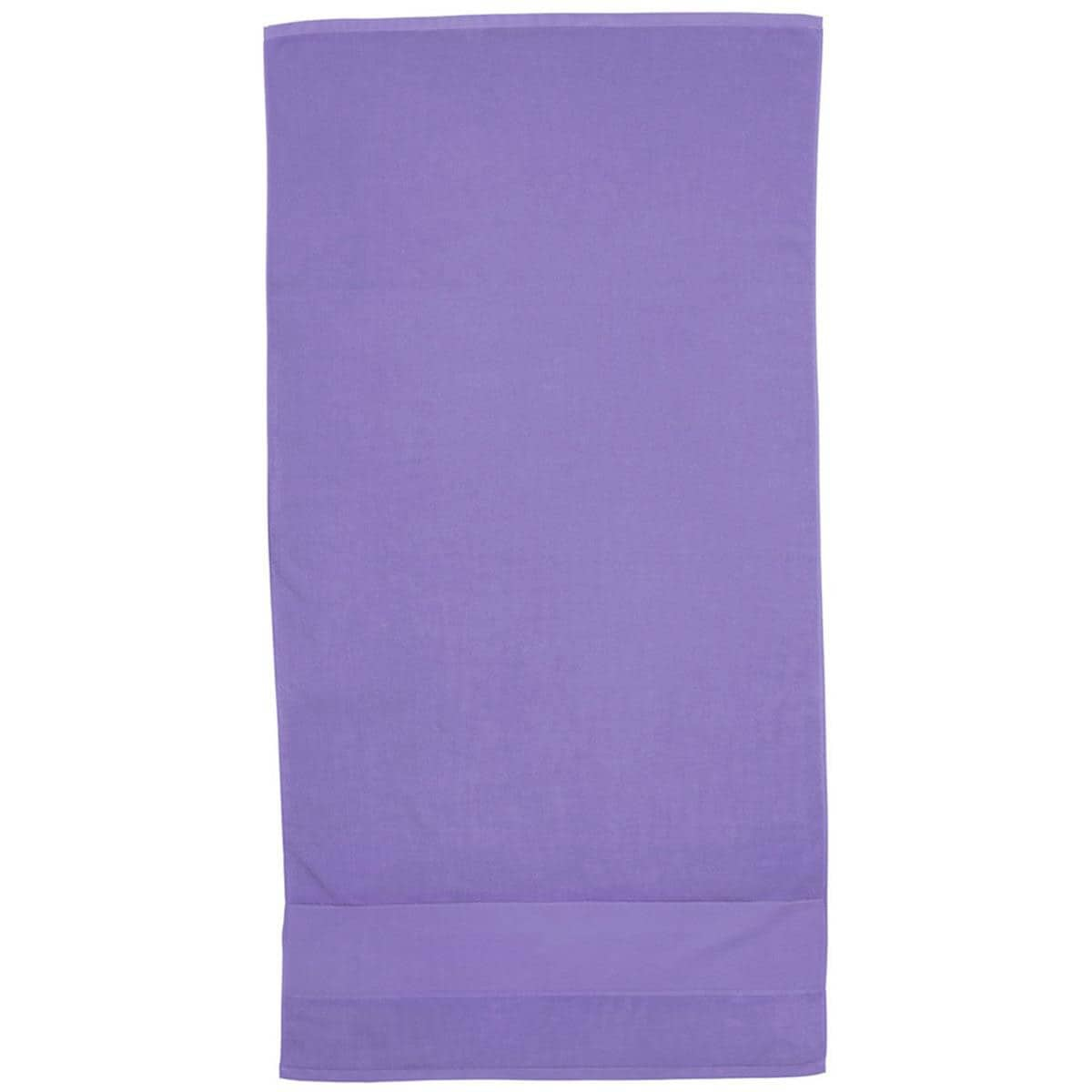 Lavender Super Soft Touch Towel Custom Printed