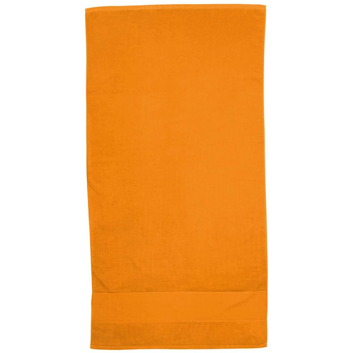 Orange Super Soft Touch Towel Custom Printed