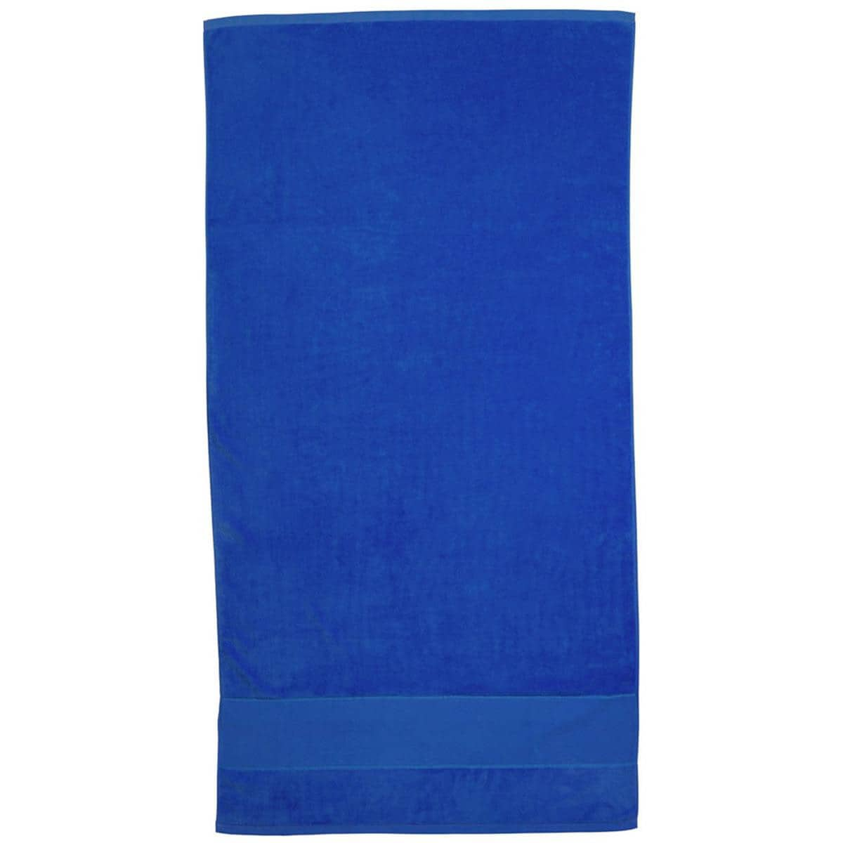 Royal Blue Super Soft Touch Towel Custom Printed