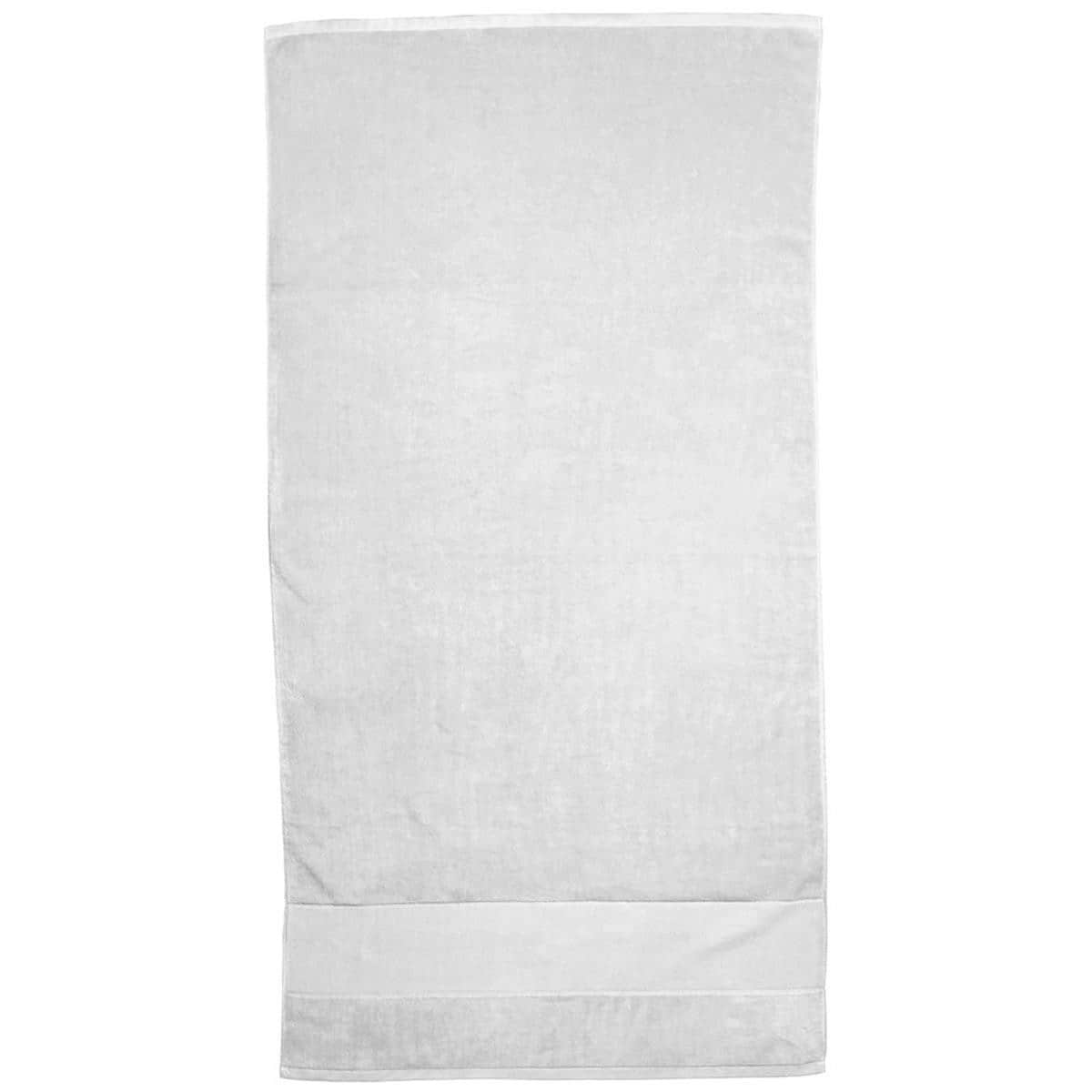 White Super Soft Touch Towel Custom Printed