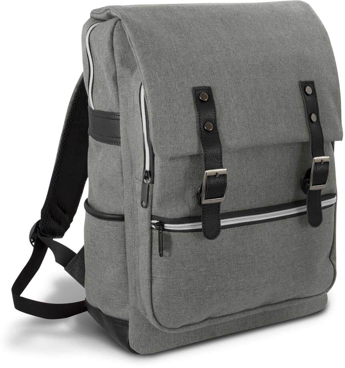 Grey/Black Cobain Laptop Backpack