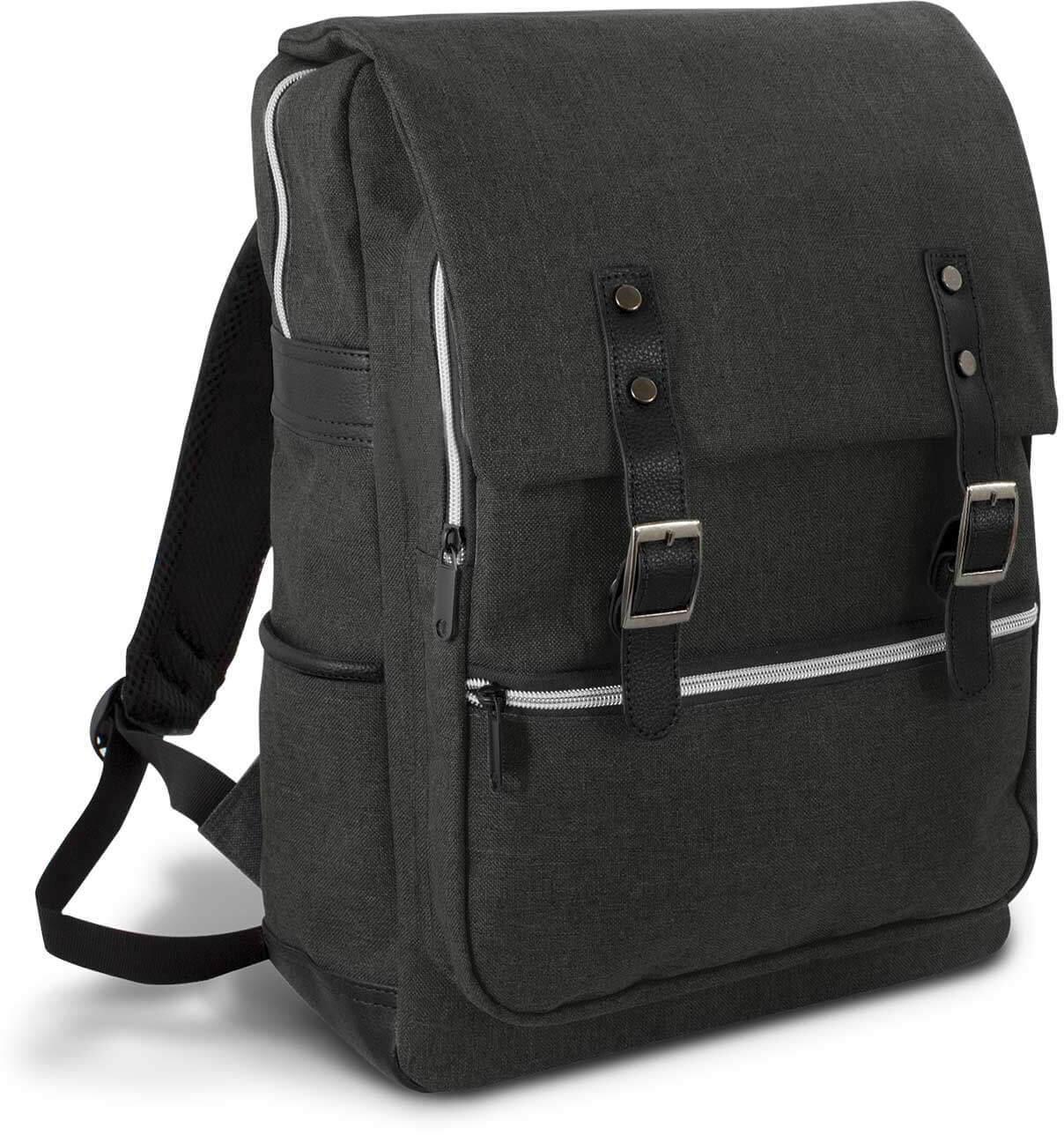 Black Cobain Laptop Backpack