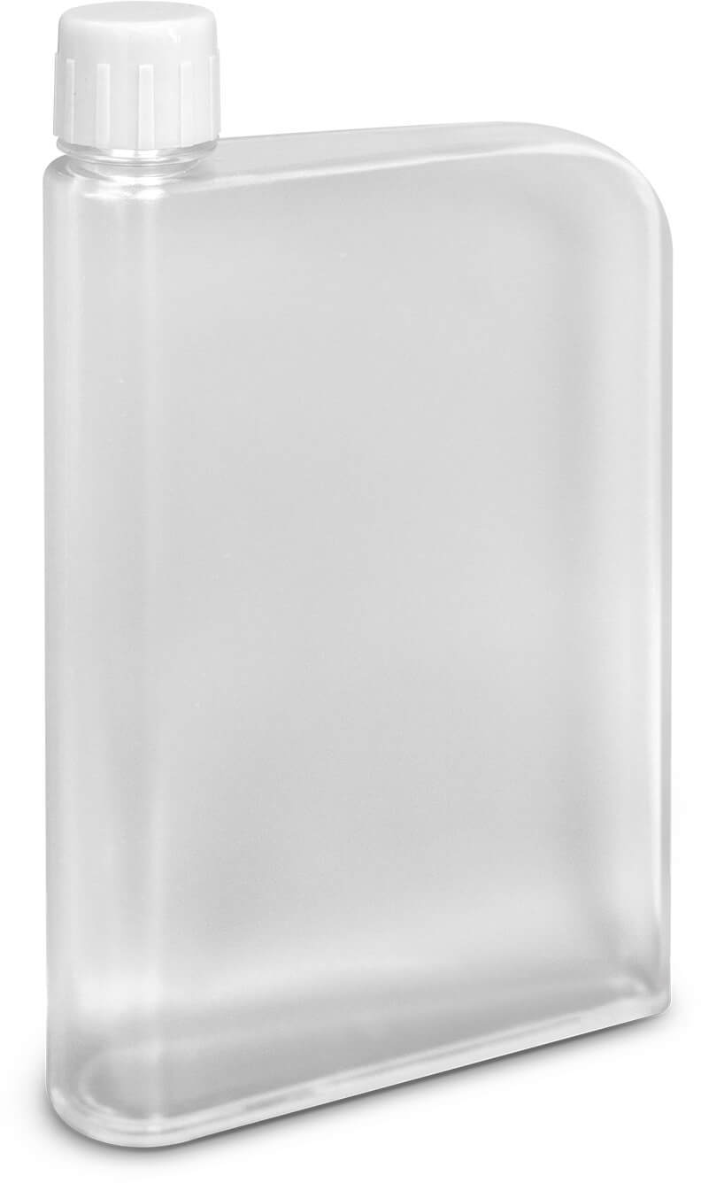 White Accent Water Bottle