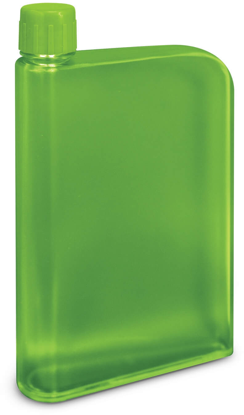 Bright Green Accent Water Bottle