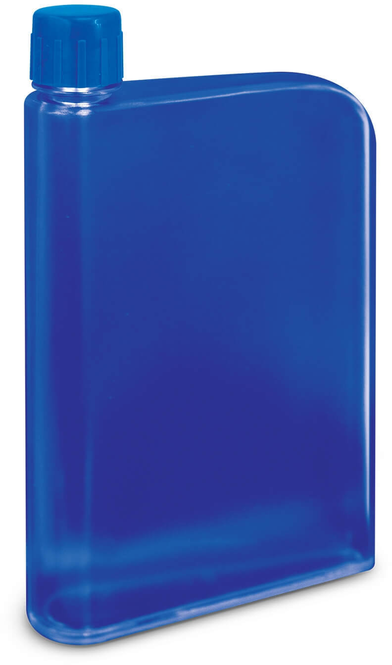 Royal Blue Accent Water Bottle