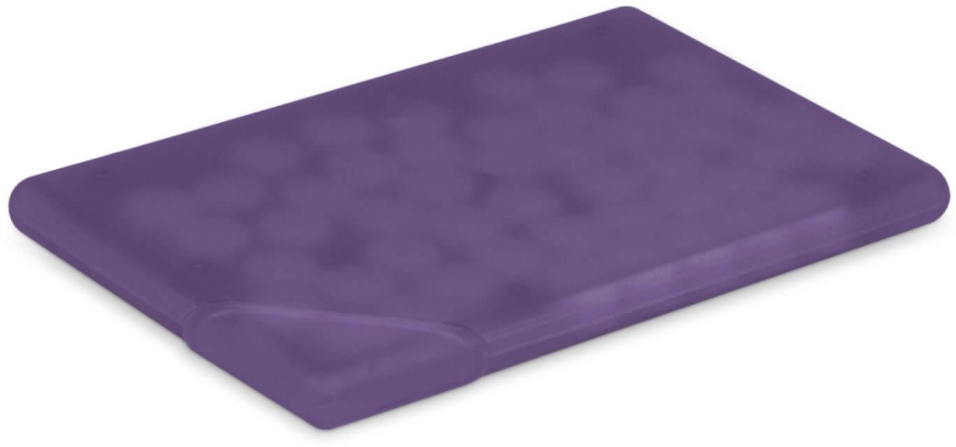 Frosted Purple Custom Mint Card