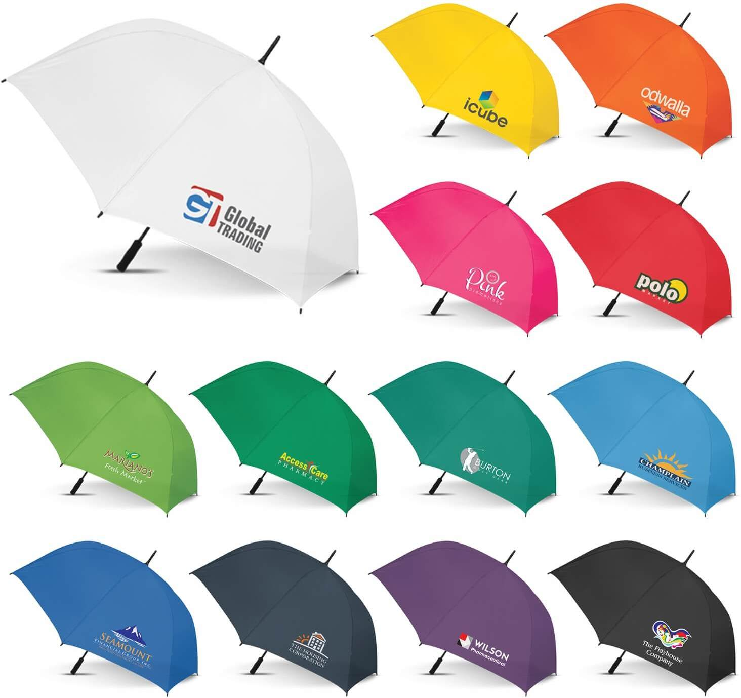 Hydra Sports Umbrella - Solid Colour