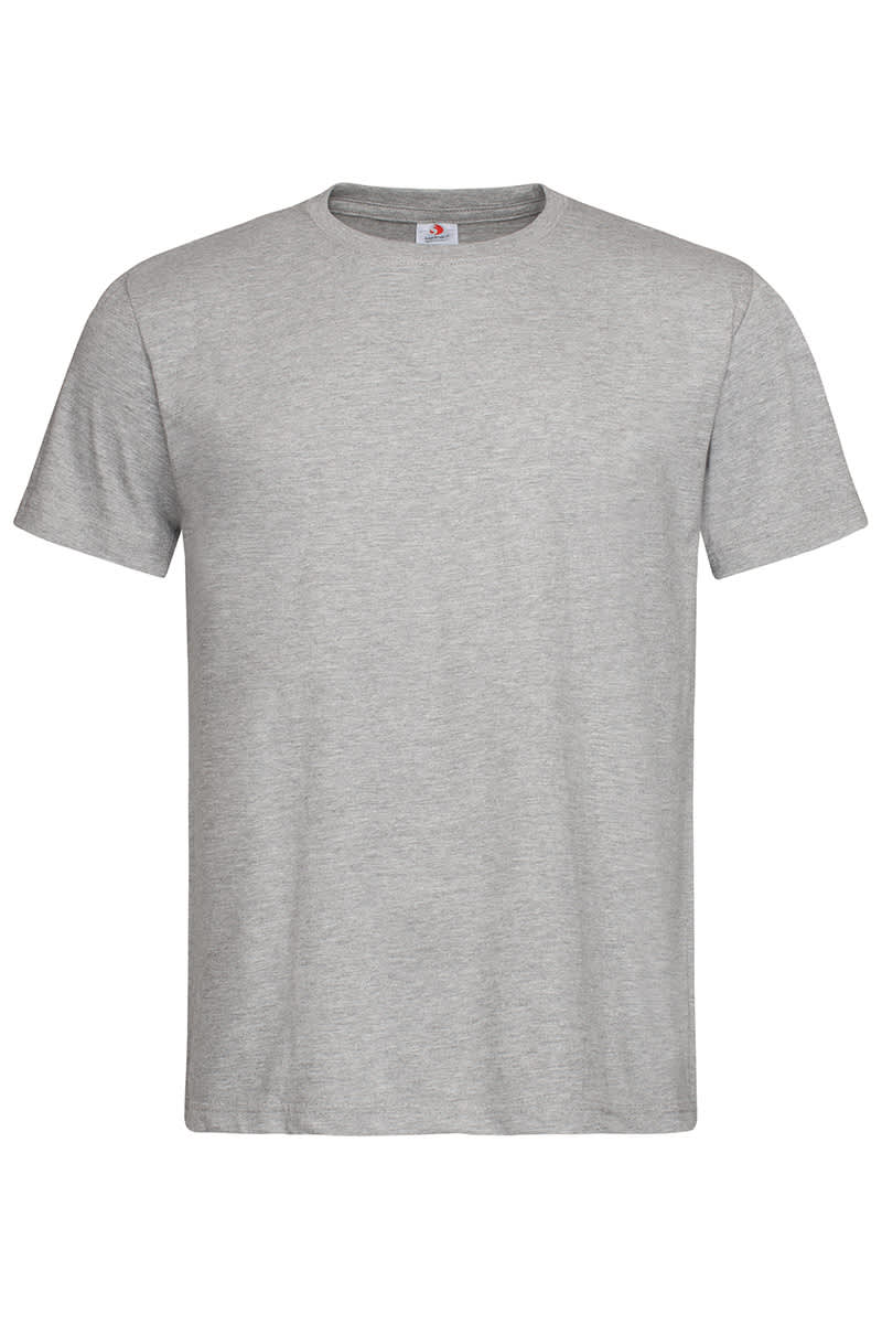 Grey Heather Classic Cotton T
