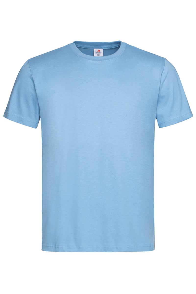 Light Blue Classic Cotton T
