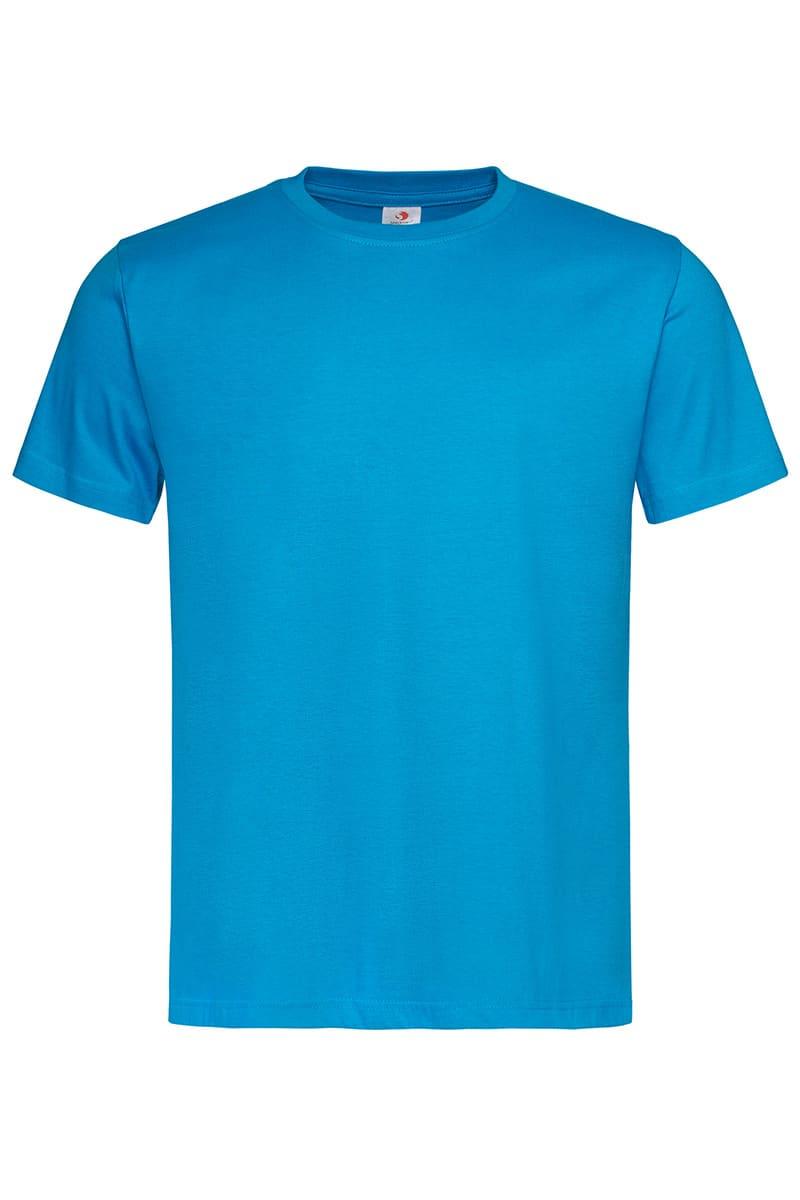 Ocean Blue Classic Cotton T