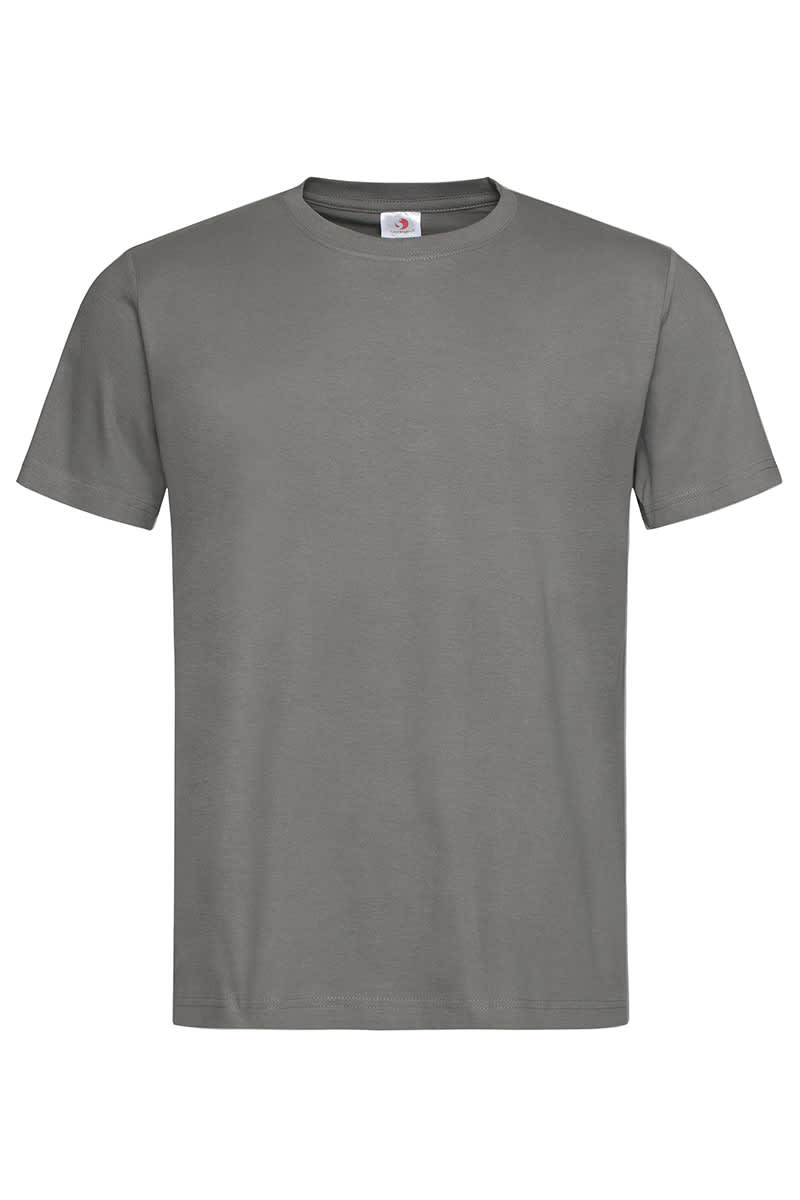 Real Grey Classic Cotton T