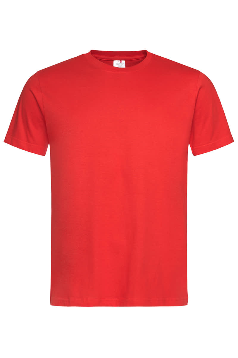 Scarlet Red Classic Cotton T