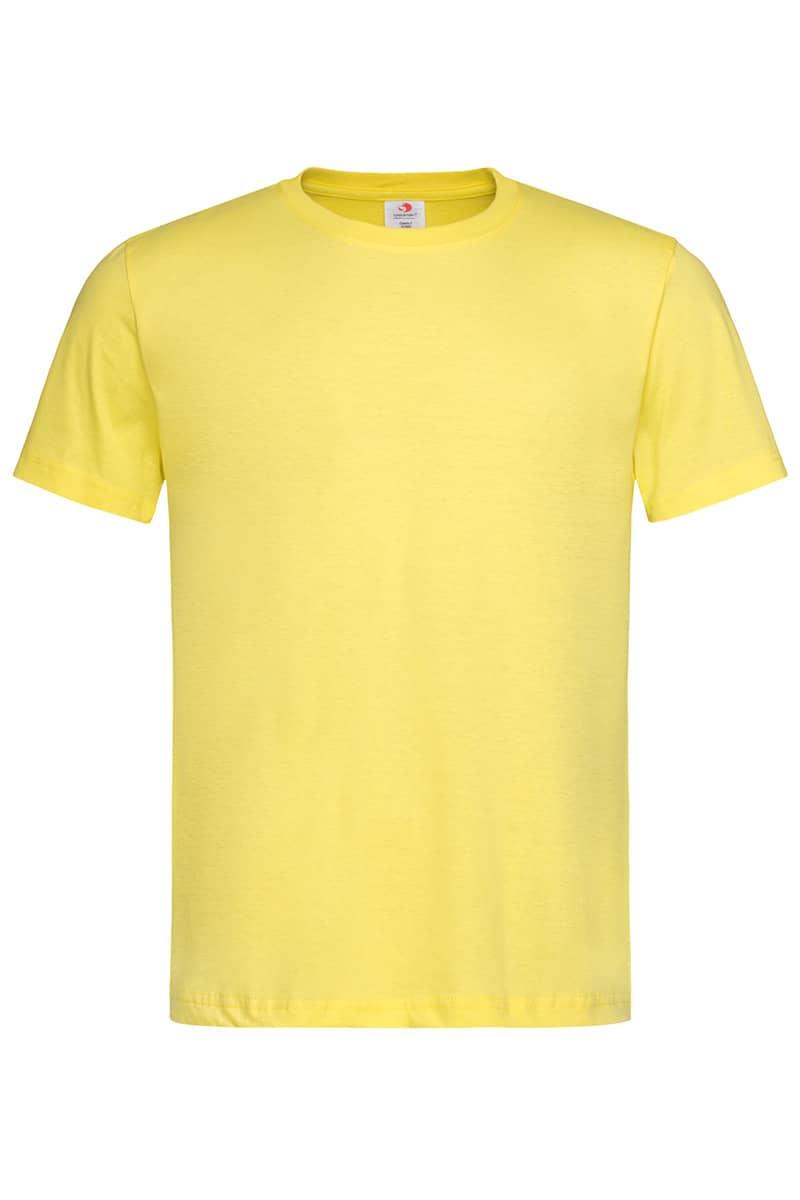 Yellow Classic Cotton T