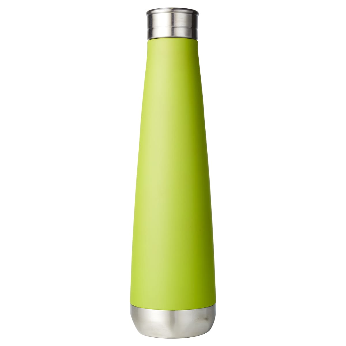 Lime Green Lily Mirror Finish Vaccuum Bottle by HydroSoul