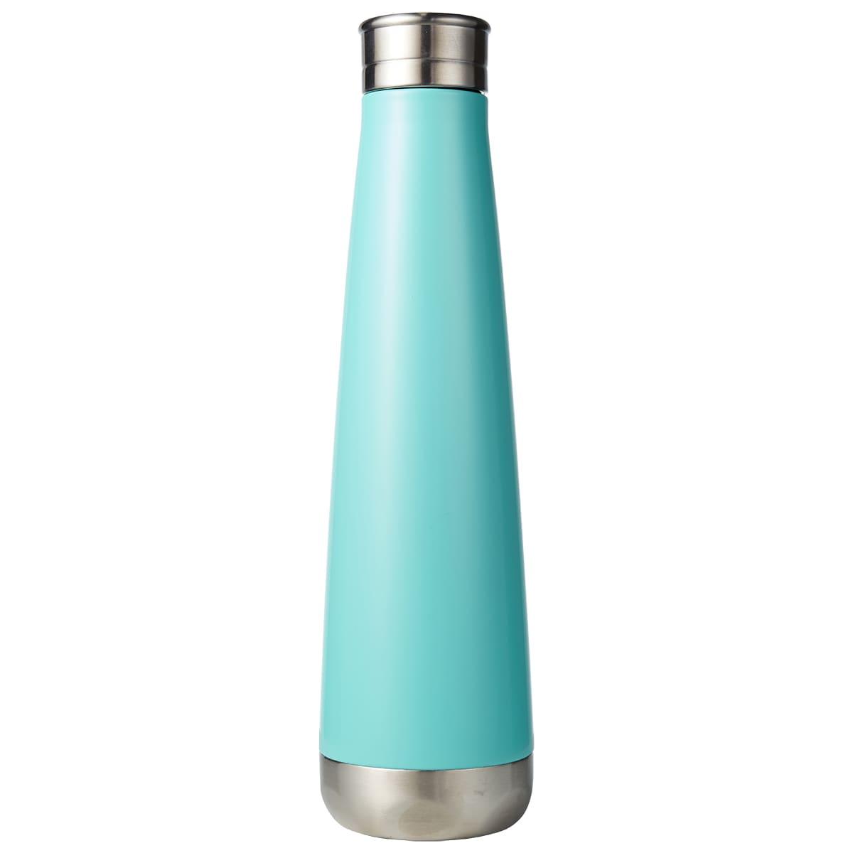 Aqua Lily Mirror Finish Vaccuum Bottle by HydroSoul