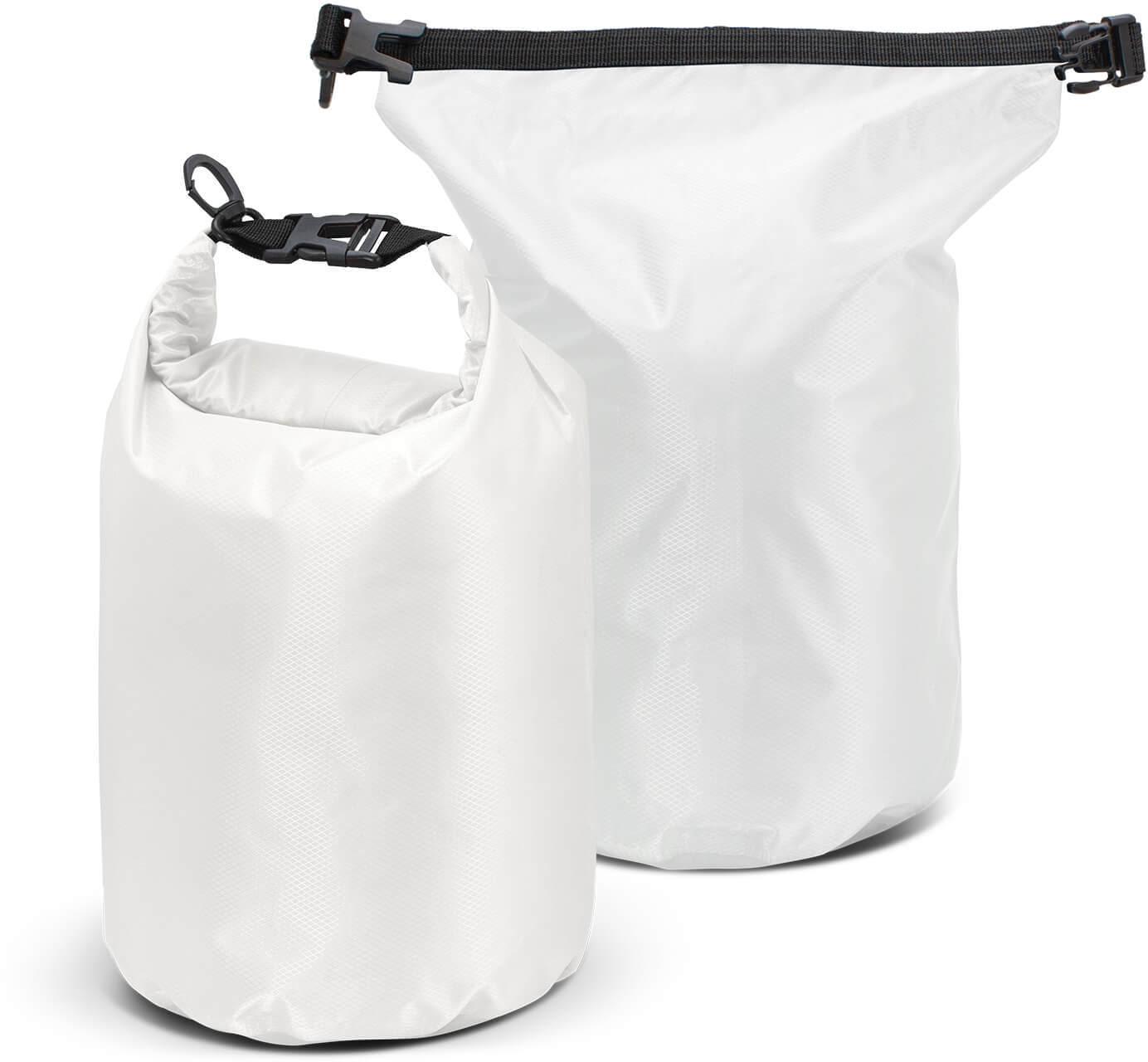 White Nevis Dry Bag - 10L