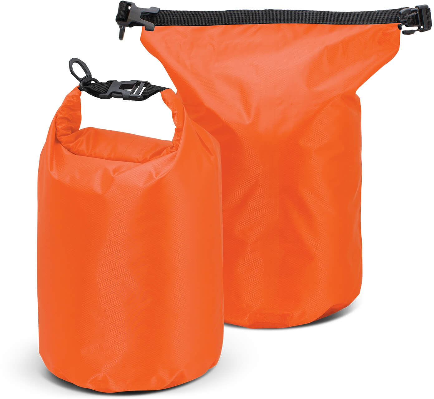 Bright Orange Nevis Dry Bag - 10L