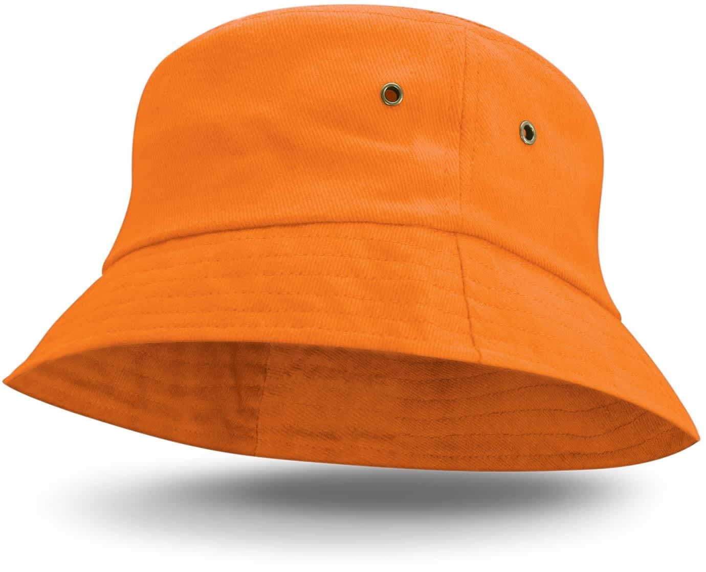 Orange Bondi Premium Bucket Hat