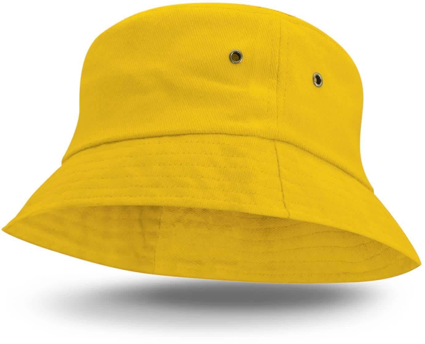 Yellow Bondi Premium Bucket Hat