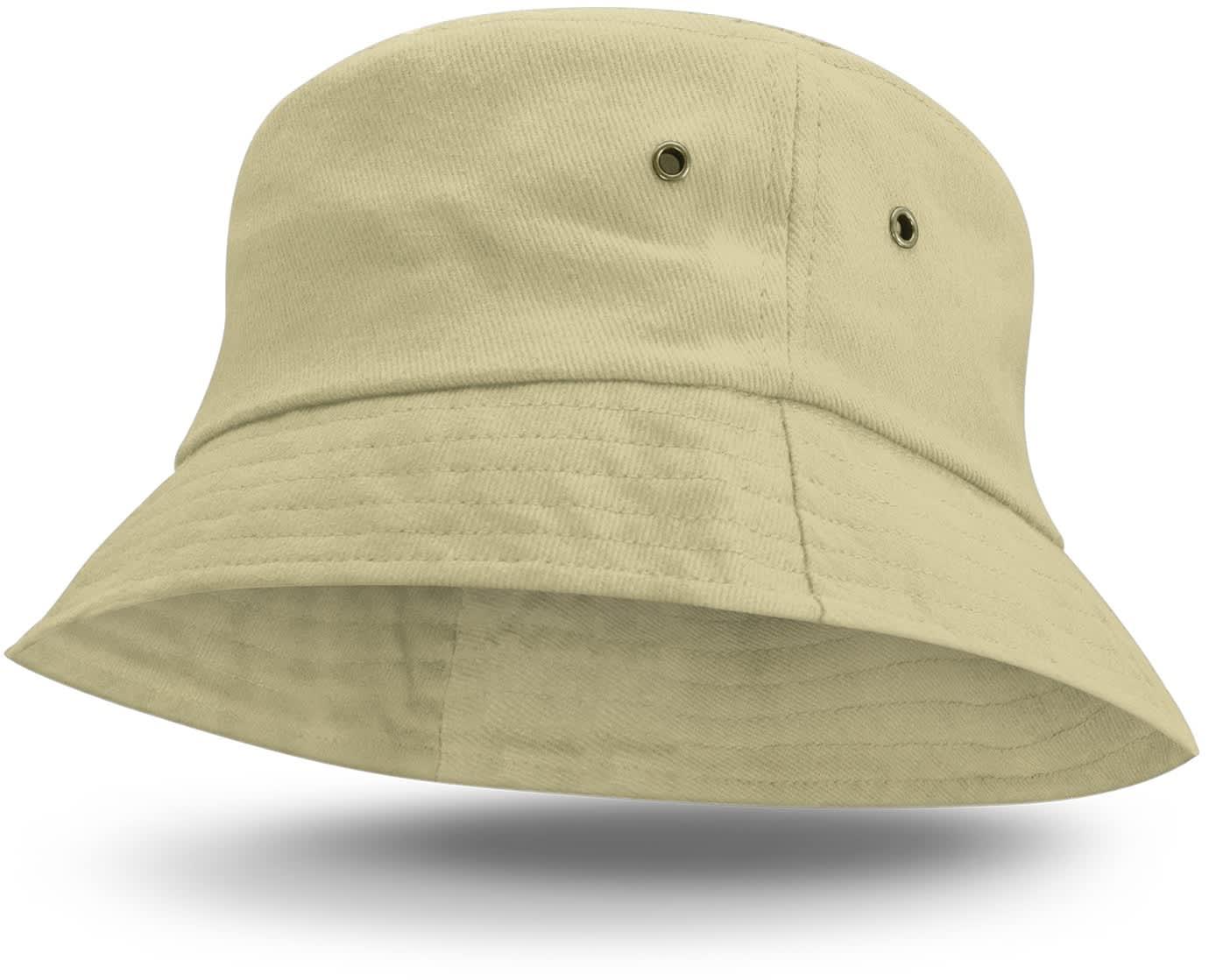 Beige Bondi Premium Bucket Hat