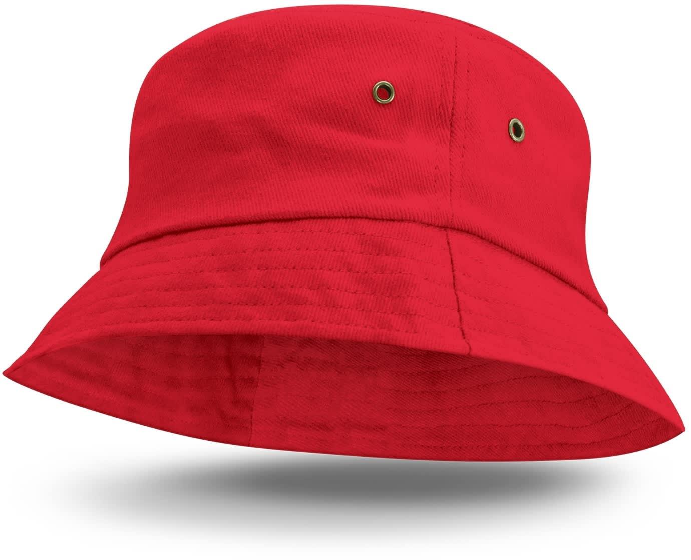 Red Bondi Premium Bucket Hat