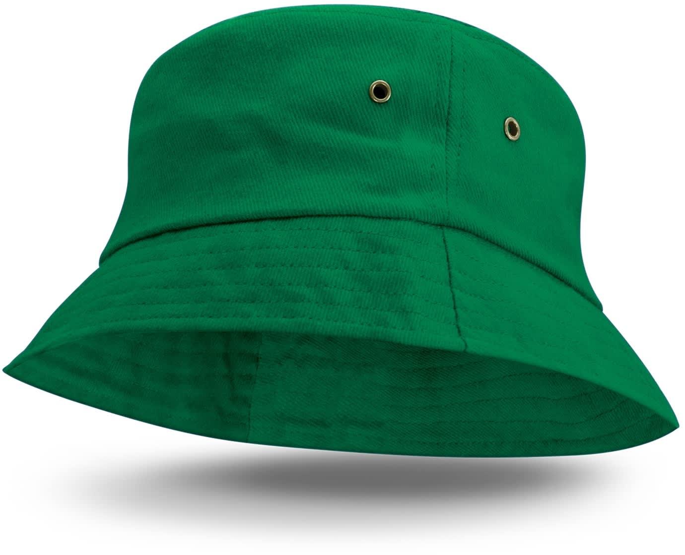 Dark Green Bondi Premium Bucket Hat