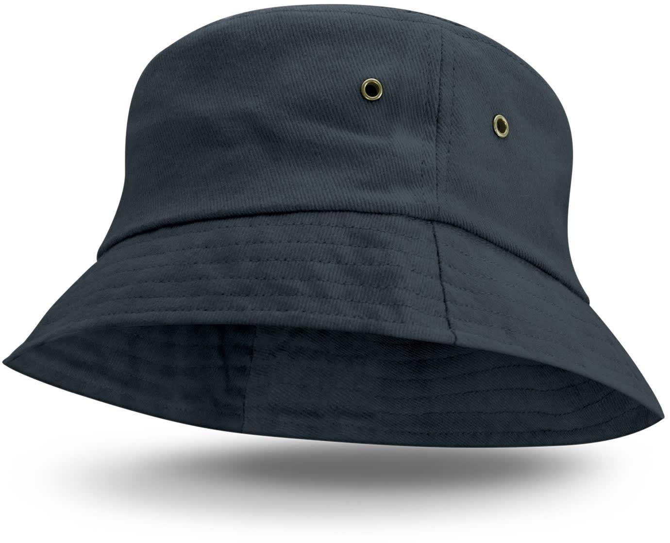 Navy Bondi Premium Bucket Hat