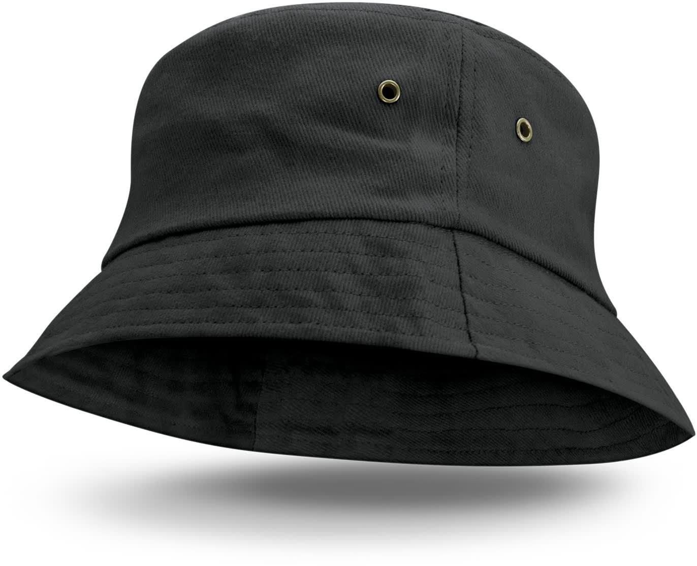 Black Bondi Premium Bucket Hat