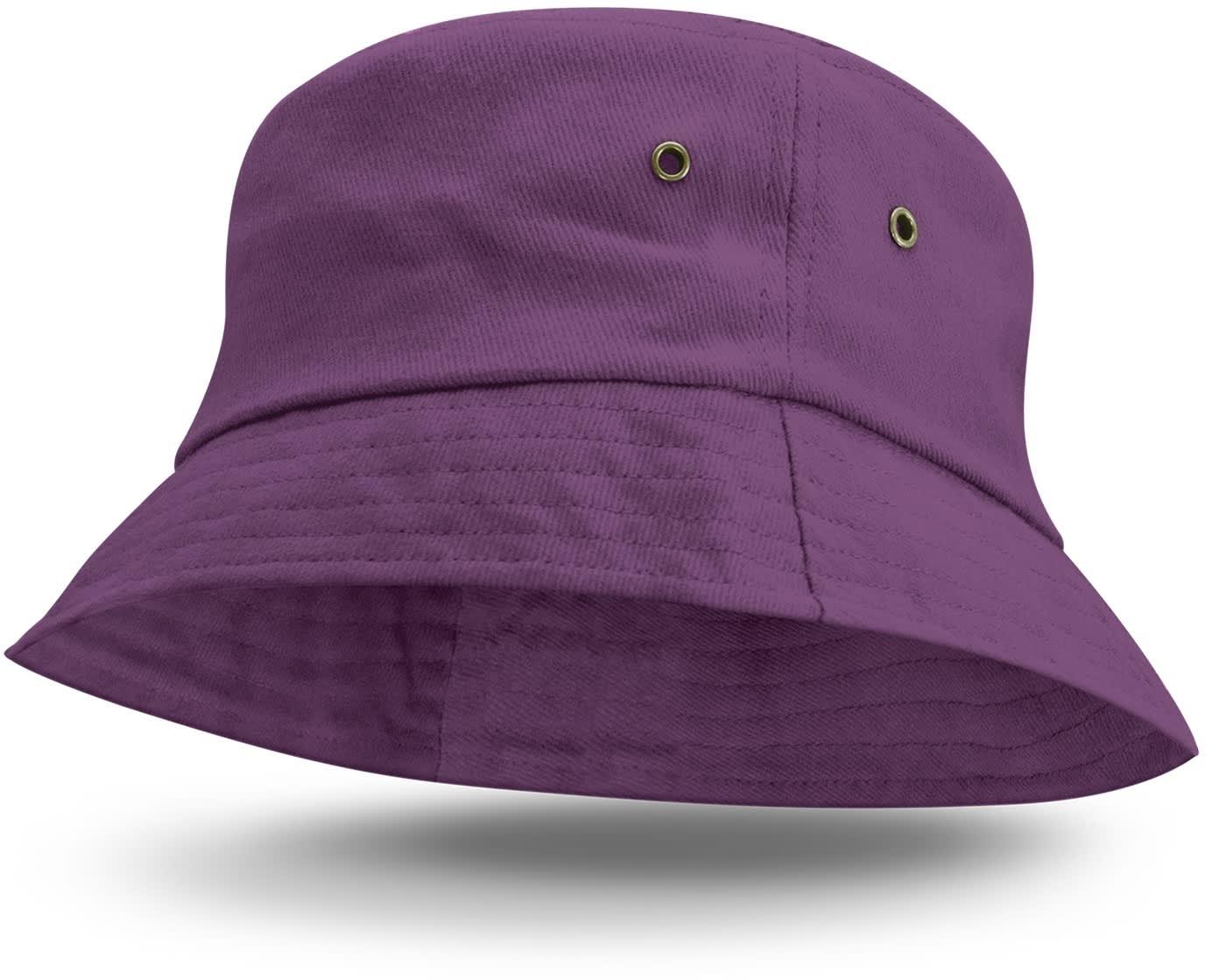 Purple Bondi Premium Bucket Hat