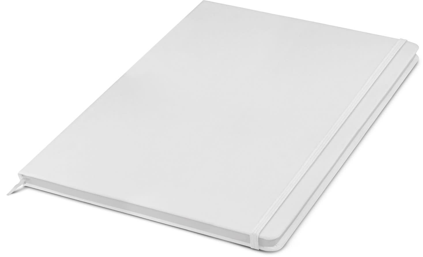 White Sigma Notebook
