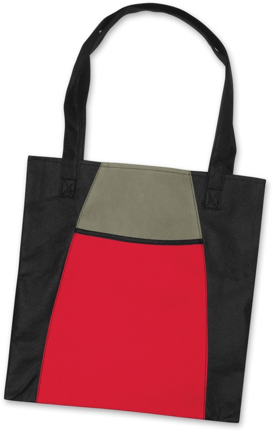 Red/Black Promo Fashionable Tote Bag