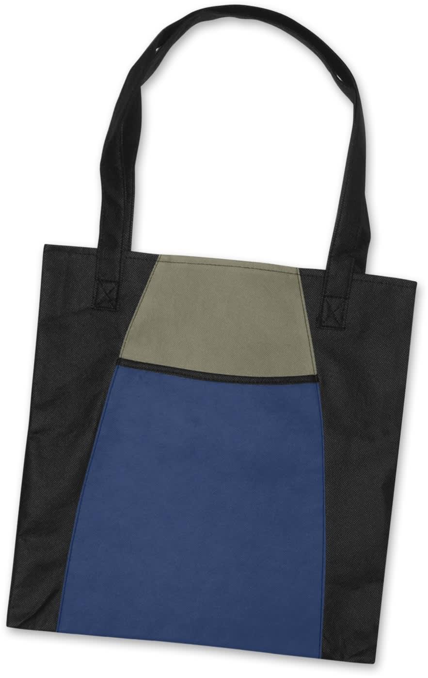 Blue/Black Promo Fashionable Tote Bag