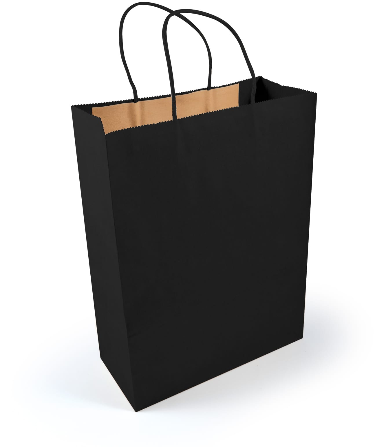 Black Kraft Paper Bag