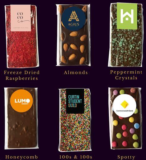 Premium Australian Made Chocolate Bar